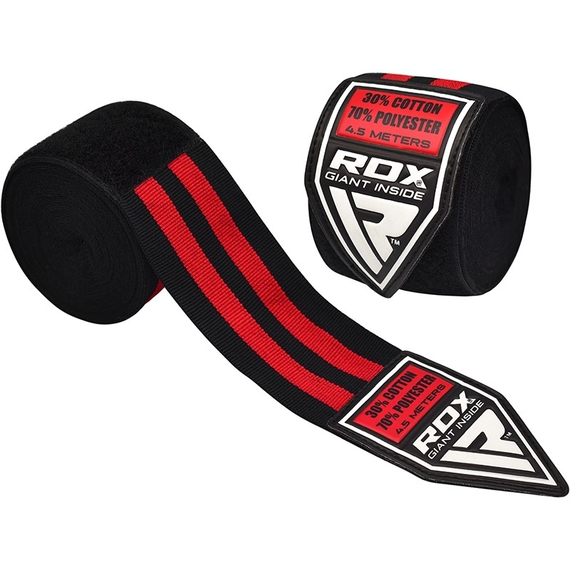 RDX_1B_Red_Polyester_Pro_Hand_Wraps