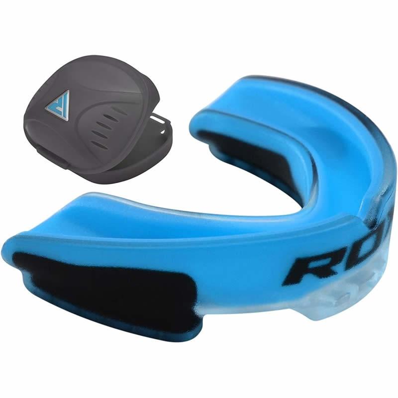 RDX 3U Kids Blue Rubber Gum Shield Mouth Guard