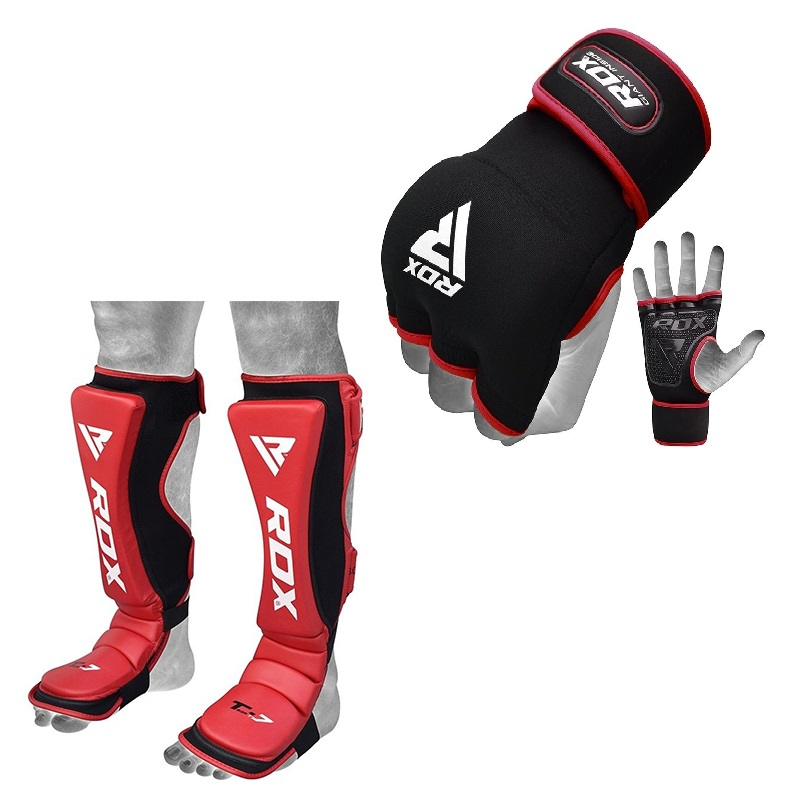 RDX TX Shin Instep Guard And Inner Gloves