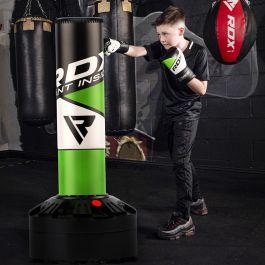Gloves Kids//Junior Boxing FREE STANDING Punch bag Set Freestanding Bag