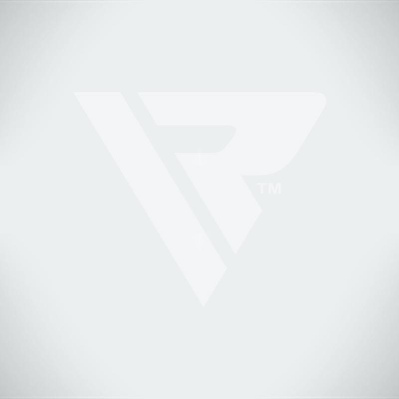 RDX X1 Black Unfilled Punching Bag & Mitts Set 4 ft