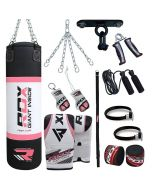 RDX X2 13pc Punch Bag Boxing Set
