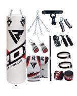 RDX F10 Saco de Boxeo con Guantes de Saco 13 Pzas