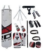 RDX F7R 13pc Punching Bag With Mitts