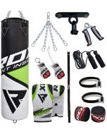 RDX 13pc Punch Bag With Gloves