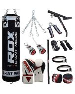 RDX 17pc Punch Bag Set with Gloves