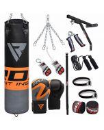 RDX 17pc FO Punching Bag & Gloves Set