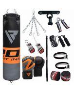 RDX 13pc FO Punching Bag & Gloves Set