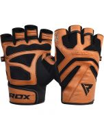 RDX S12 Leather Fitness Training Gloves