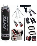 RDX Pro 13pc F10 Punch Bag & Boxing Set