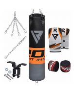 RDX F12 8pc Punching Bag Set with Gloves