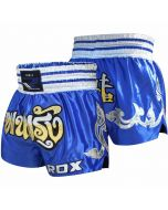 RDX R1 Fire Satin Muay Thai Shorts