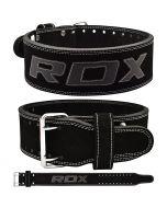 RDX 4PB Leather Powerlifting Belt