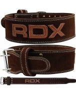 RDX 4PN Leather 10mm Powerlifting Belt