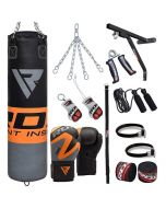 RDX 17pc FO Punching Bag & Gloves Set