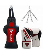 Rdx TD Face Heavy Punch Bag With Gloves