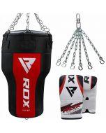 RDX AR Угловой боксерский мешок с перчатками