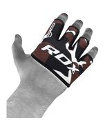 RDX 4B Camo коричневые хваты для тяжелой атлетики