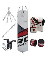 RDX F10 8pc Punch Bag & Gloves Set
