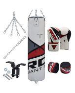 RDX F10 8pc Punch Bag & Gloves Set