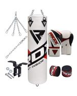 RDX F10 8Pc Punching Bag with Gloves