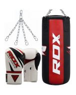 RDX X3 Punch Bag With Gloves