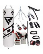 RDX F10 17pc Punch Bag with Gloves