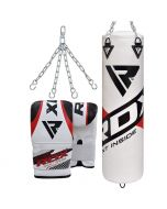 RDX F10 Punch Bag with Bag Mitts