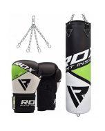 RDX F11 Punch Bag & Boxing Gloves