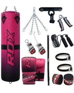 RDX F15 4ft 13pc Punch Bag Set