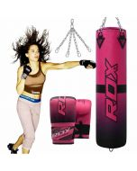 F15 4FT Punching Bag WIth Bag GLoves