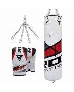 RDX F7 Ego Punch Bag & Bag Gloves