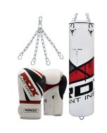 RDX F7 Ego Punch Bag with Gloves set