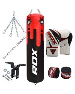 RDX F9 8Pc Punch Bag with Gloves