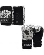 RDX FL4 Ladies Focus pads With Boxing Gloves