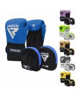BLUE BOXING MITT GLOVES PUNCH BAG MMA TKD KICK INNERS