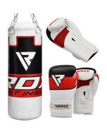 RDX P7 Punch Bag with Boxing Gloves