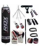 RDX Pro 13pc F10 Punch Bag & Boxing Set