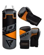 RDX 8O Punch Bag & Gloves Set