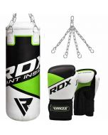 RDX R-8 Punch Bag & Gloves Set