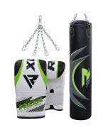 RDX Zero Impact G Core Punching Bag Set