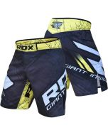 RDX R4 Yellow MMA Shorts