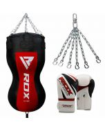 RDX BR Body Punch Bag with Gloves