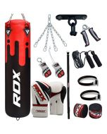 RDX F9 13 PC Punch Bag with Gloves Set