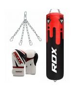 RDX F9 Punch Bag With Gloves