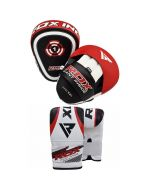 RDX Boxing Pads with Bag Gloves