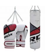 RDX F7 Ego Punch Bag With Boxing Gloves