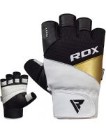 RDX S11 Leather Gym Workout Gloves
