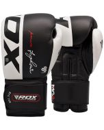 RDX S4 10 oz Black Boxing Gloves