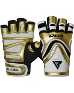 RDX S9 Glaze Leather Gym Gloves